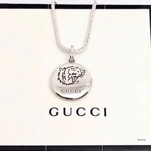 New Authentic Gucci Tiger Charm + Free Chain